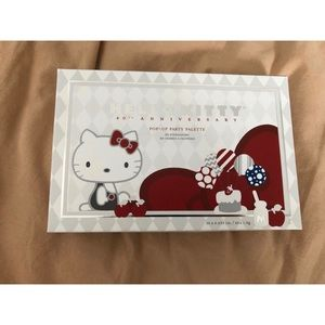 Hello Kitty 40th anniversary pop-up party palette